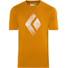 Black Diamond Chalked Up t-shirt Heren oranje